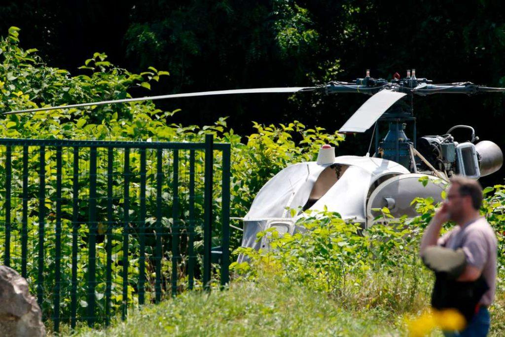 Nuova spettacolare fuga (in elicottero) per il re delle evasioni francese