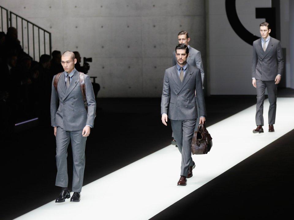Schizzo Moda Settimana delle borse Armani, sconto 20% su