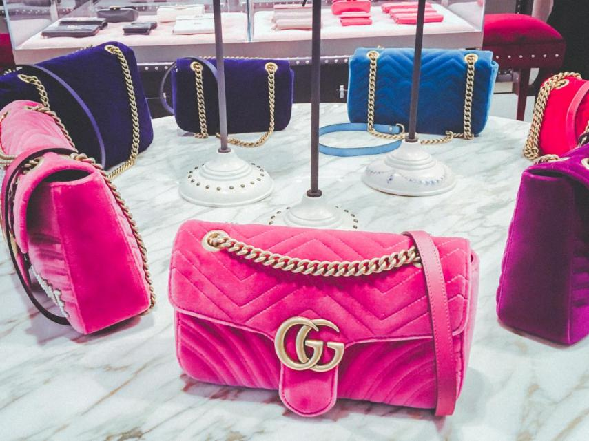 b4d5372b2d Borse di Gucci in un negozio a Brookfield Place, Manhattan. Business  Insider/Jessica Tyler