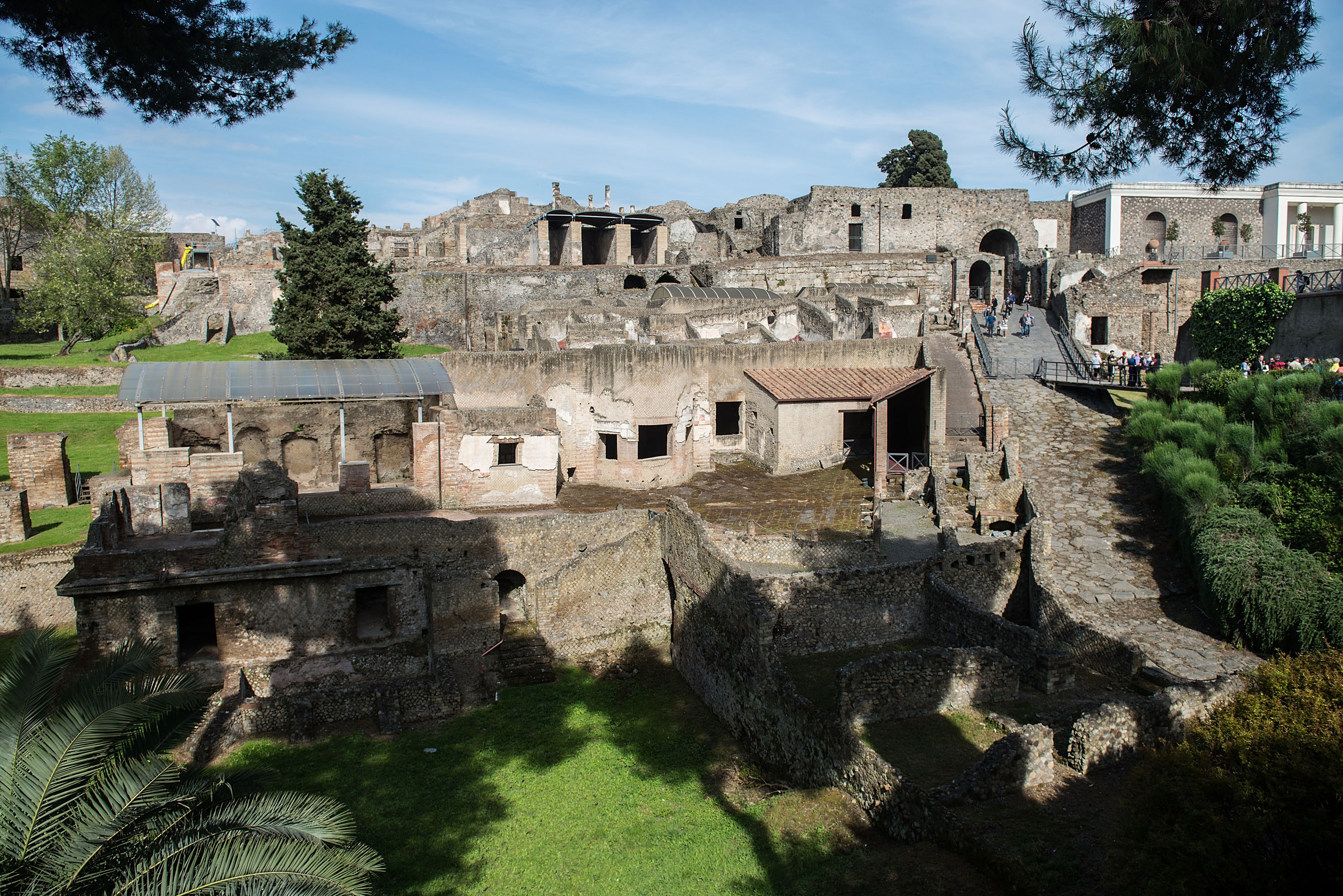 Lo scavo archeologico di Pompei - Getty Images