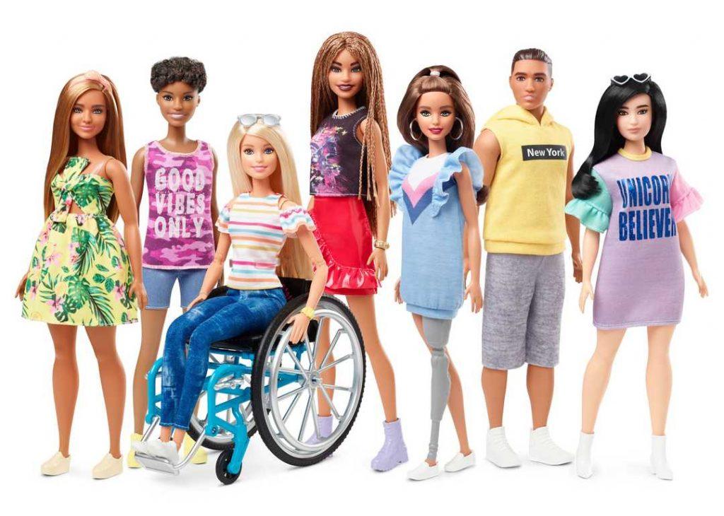 La conversione di Barbie: da modello unico di bellezza a paladina