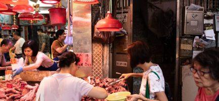 Mercato nel quartiere Mong Kok di Hong. Philip Fong / AFP/Getty Images