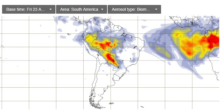 Amazzonia Biomassa da copernicus.eu