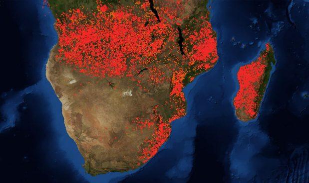Risultati immagini per L'Africa brucia...