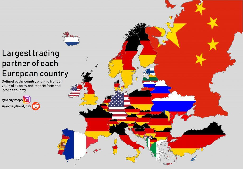 Cartina Europa Economica.Questa Cartina Spiega Meglio Di Mille Parole Il Dominio Economico