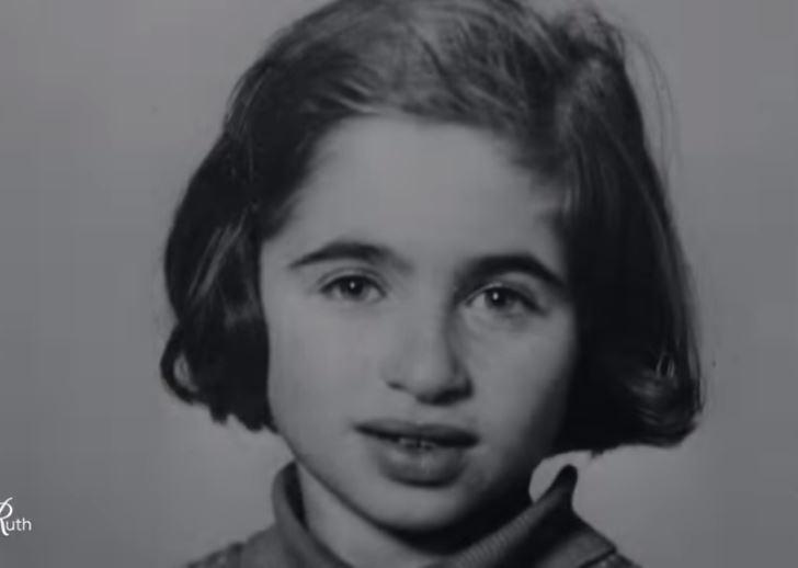 Ruth Westheimer da bambina. Frame dal documentario su Hulu.