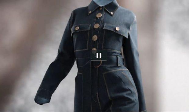 L'abito costa 9500 dollari, ma non esiste nella realtà. E' la nuova frontiera della moda digitale