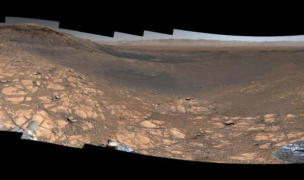 Curiosity manda un'immagine eccezionale da Marte, da 1,8 miliardi di pixel