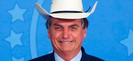 Il Presidente della repubblica del Brasile Jair Bolsonaro. Sergio Lima/AFP via Getty Images