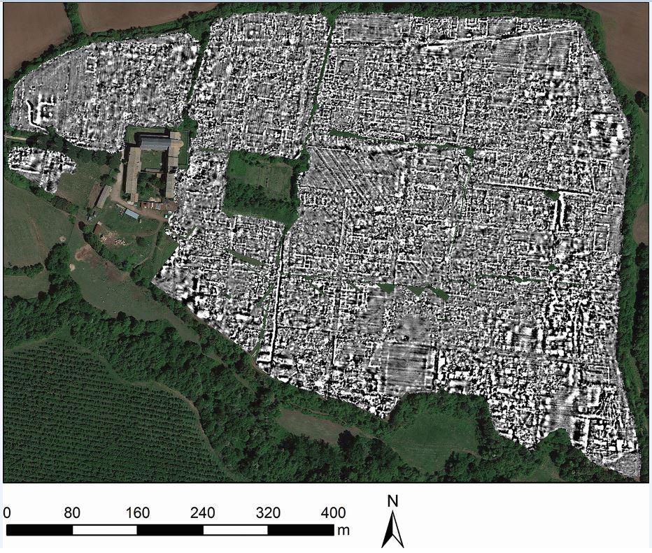 Rivoluzione nell'archeologia: portata 'alla luce' un'intera città Romana senza alcuno scavo