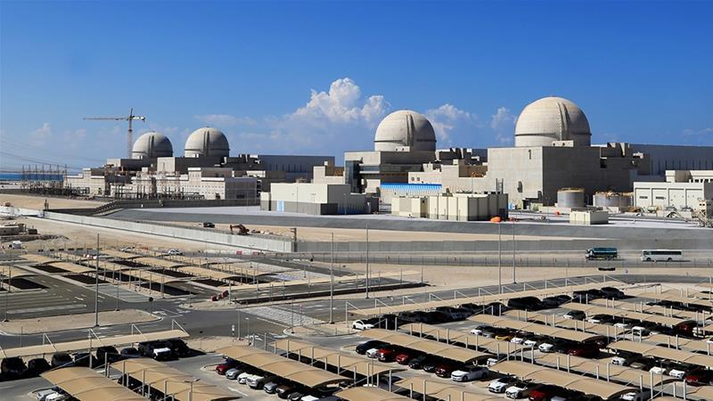 Inizia negli Emirati l'attività della prima centrale nucleare del mondo arabo