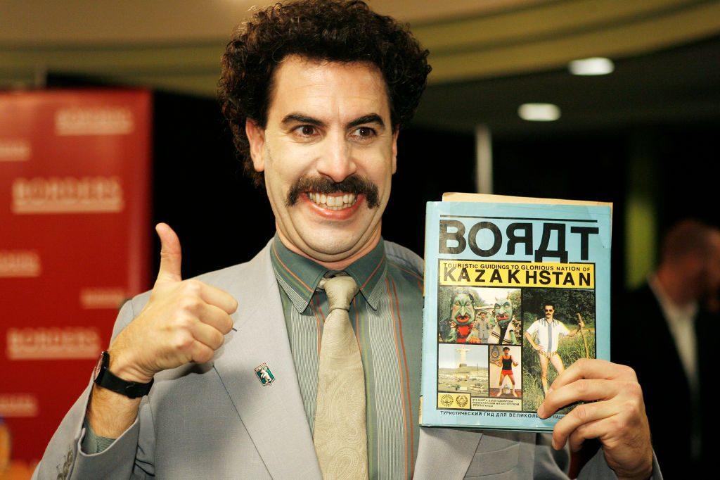 Un crowdfunding raccoglie più di 100 mila dollari la 'tata' di Borat