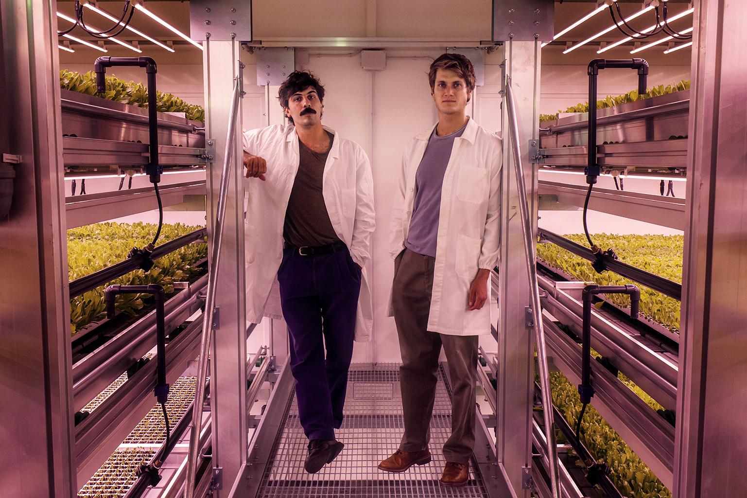 I due fondatori di Agricola Moderna. Foto di Massimo Nicolaci
