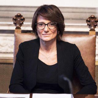 la ministra per le pari opportunità Elena Bonetti