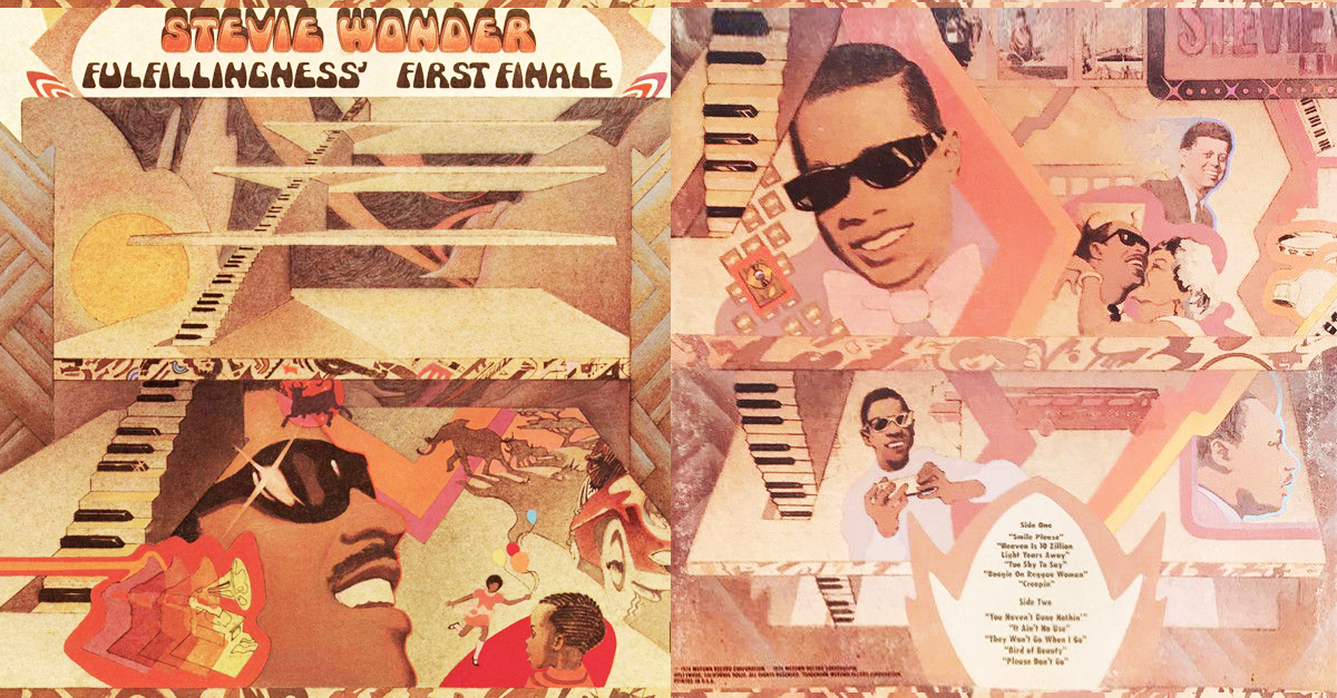 fulfillingness first finale album cover stevie wonder