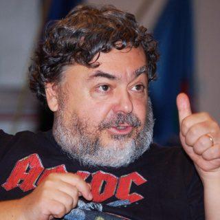 Lo scrittore ed esperto di gialli Luca Crovi