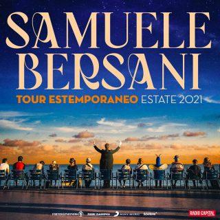 Locandina tour Samuele Bersani 2021