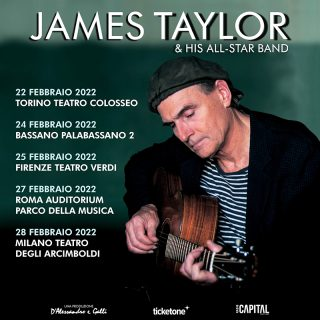 James Taylor poster tour 2022 with dates