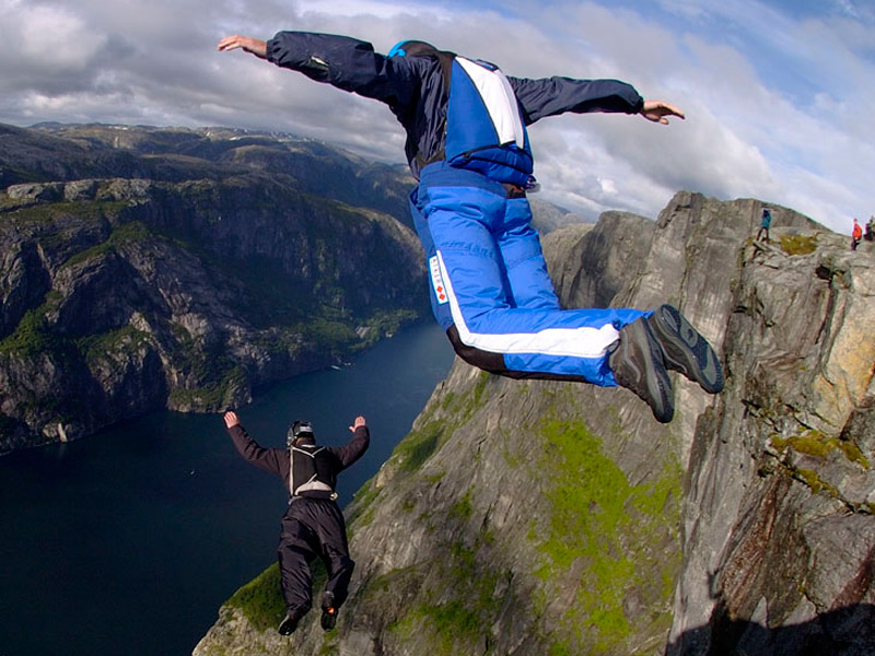 Passione base jumping