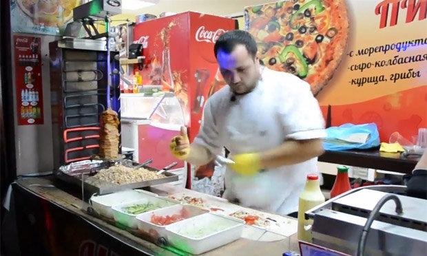Kebab Mortal Kombat