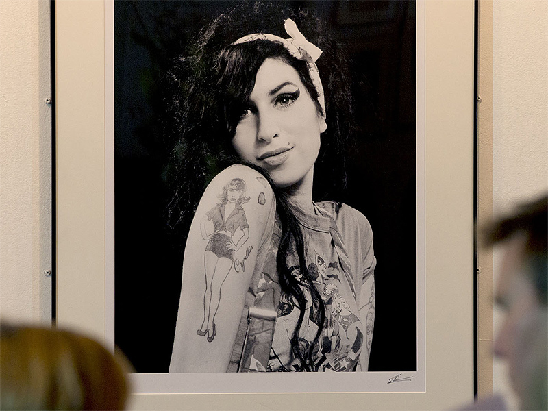 Amy Winehouse in mostra