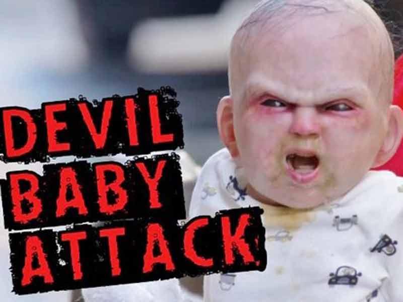 Usa, il bebé spaventa tutti