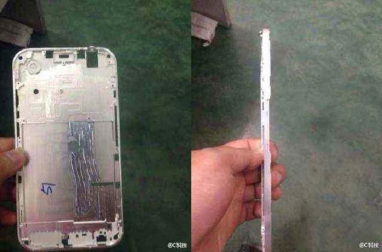 La prima foto naked dell'iPhone 6, forse