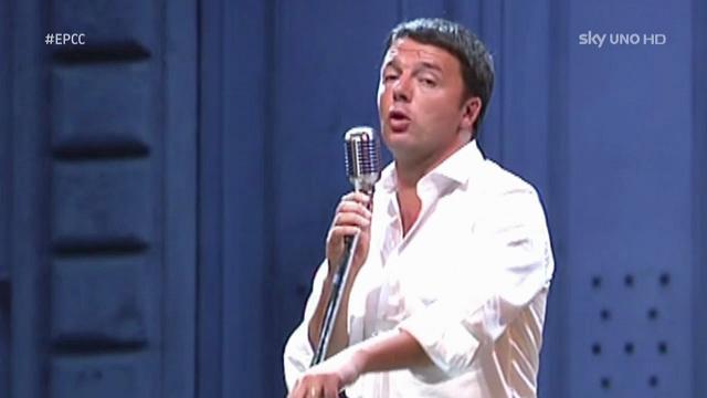 Renzi come Obama: il rap del premier da Cattelan