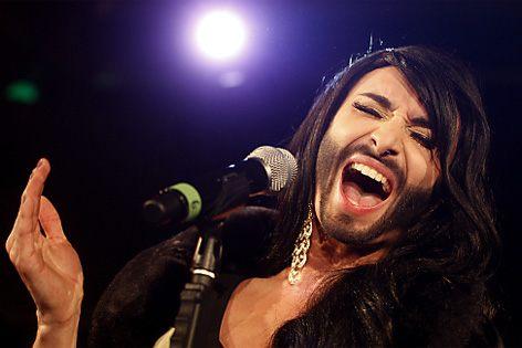 Transgender con la barba all'Eurovision Song Contest