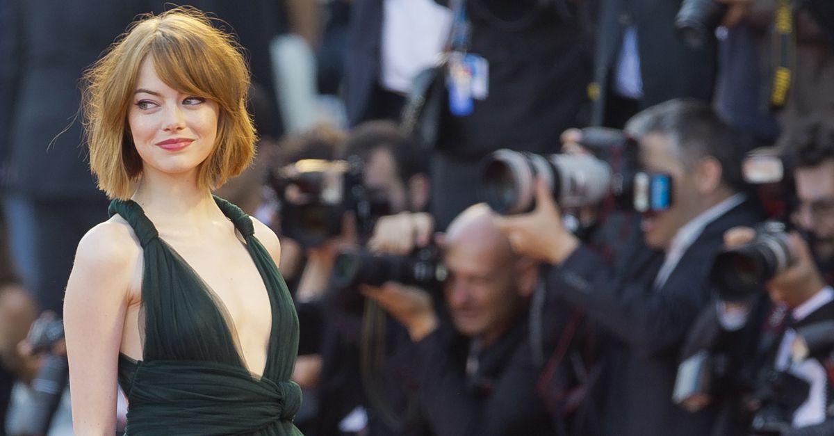 Venezia, prima volta al lido per Emma Stone