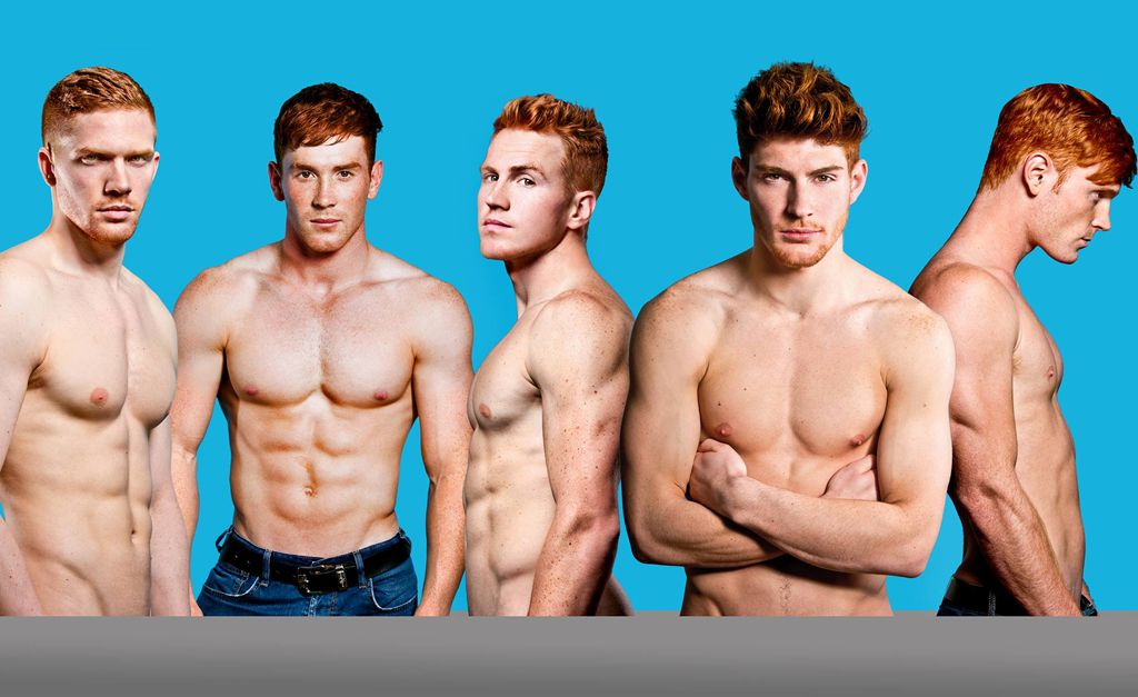 Rossi di bellezza, il nuovo calendario dei modelli ginger