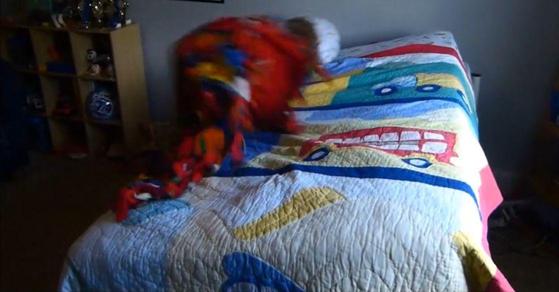 Non vuoi alzare? Il letto ti butta giù