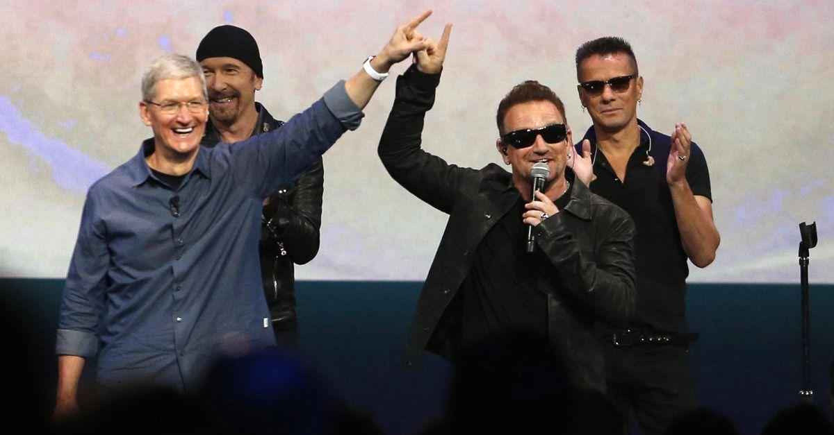 Come cancellare il nuovo album degli U2 da iTunes