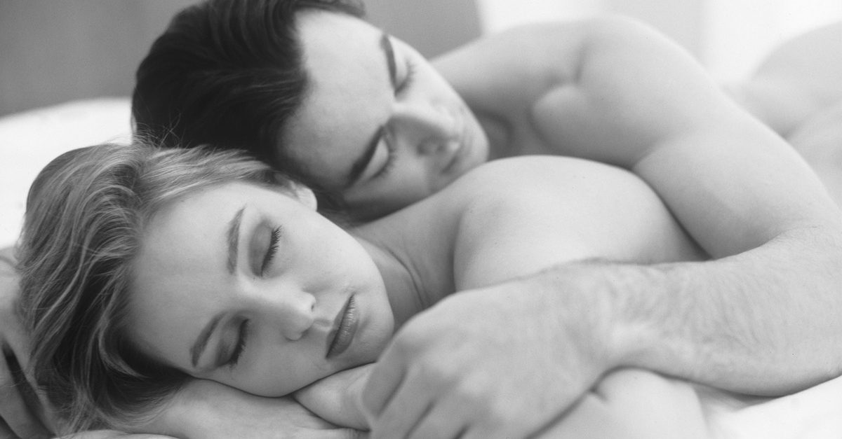Sleeping naked will do wonders for your marriage