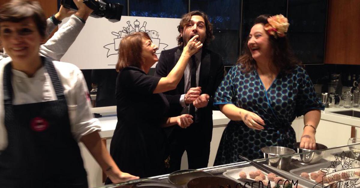 Le Sorelle Passera sono arrivate: Marisa e Gigi lanciano il sito di cucina. Le immagini del party