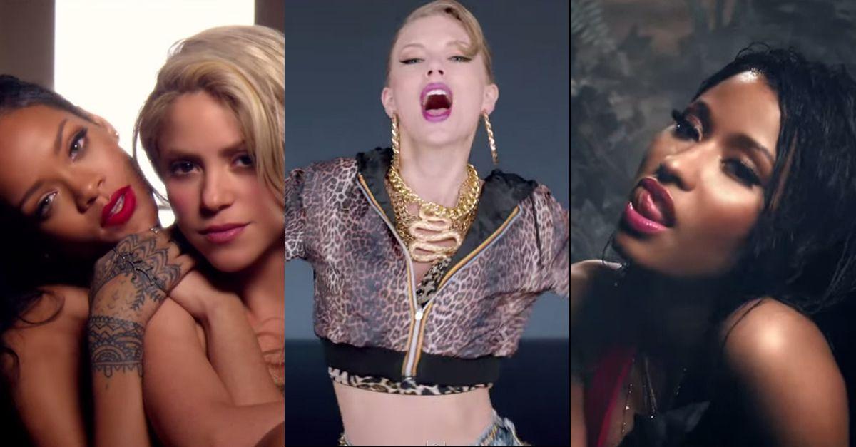 Youtube è donna. Otto reginette del pop tra i primi dieci video più cliccati nel 2014