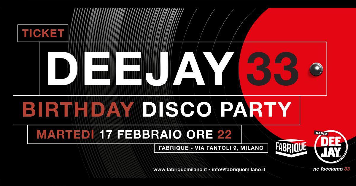 """#Deejay33, il party per il compleanno della radio """"Only vinyl"""""""