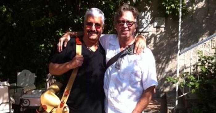 Eric Clapton dedica una canzone al suo amico Pino Daniele