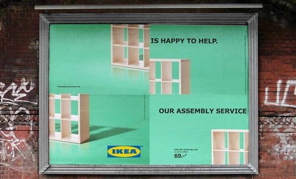 Autoironico anche nella nuova pubblicità, lo stile Ikea non si smentisce mai