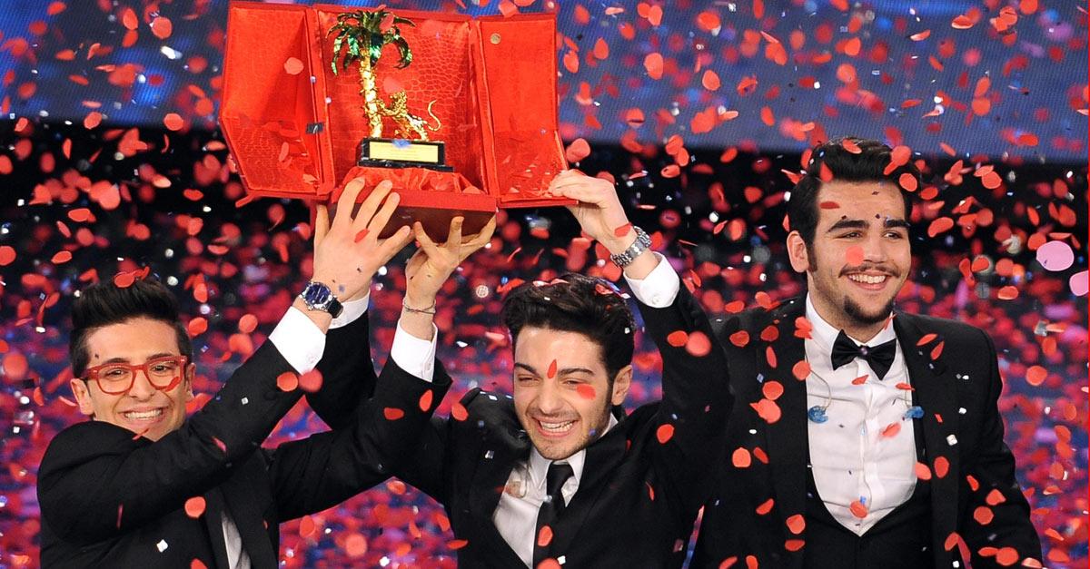 """Sanremo, vince Il Volo: """"Grazie Italia"""". Poi Nek e Malika"""