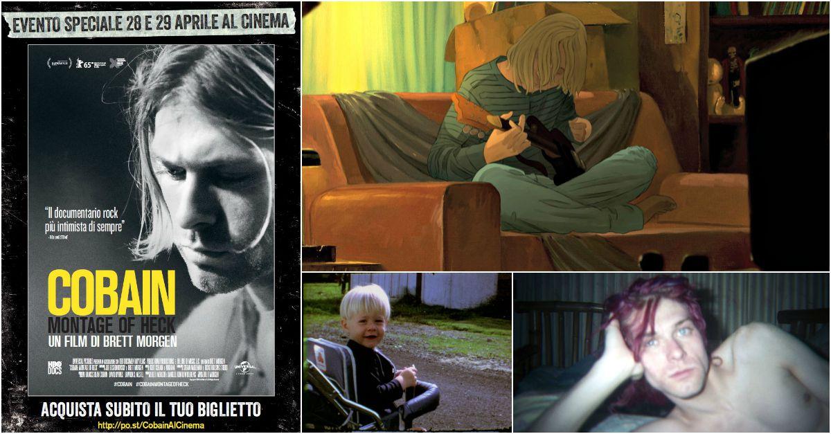 Nirvana, arriva in Italia il documentario su Kurt Cobain ispirato dagli archivi della sua famiglia