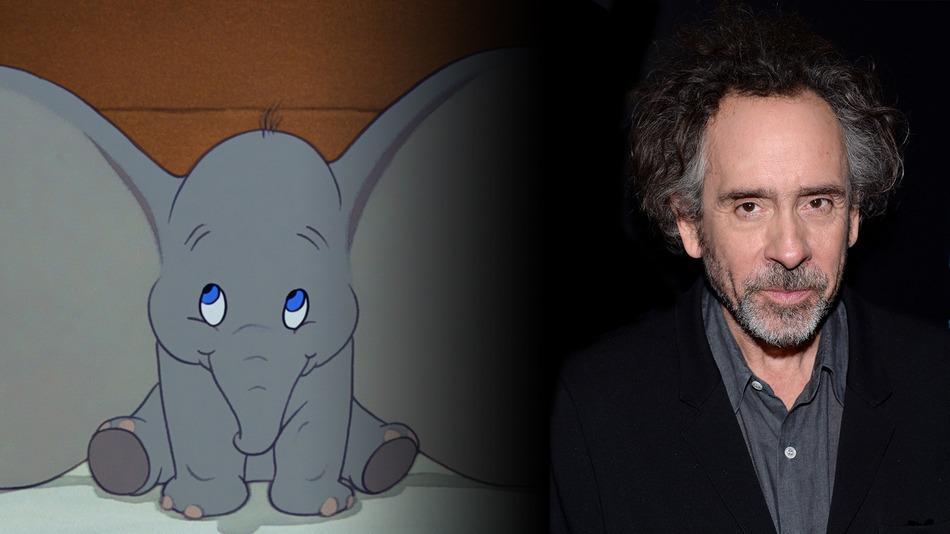 L'elefantino più famoso della Disney torna a volare: Tim Burton alla regia del prossimo 'Dumbo'