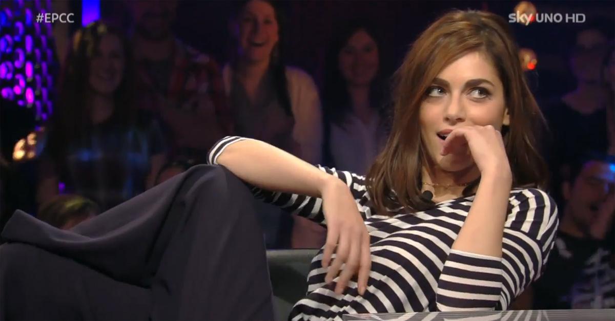 #EPCC. Miriam Leone si improvvisa attrice sexy da Alessandro Cattelan