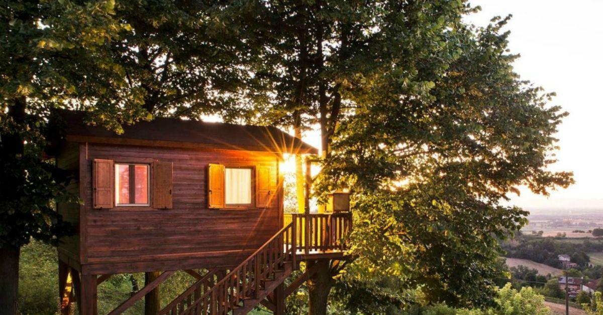 10 case sull\'albero dove dormire in Italia | Radio Deejay