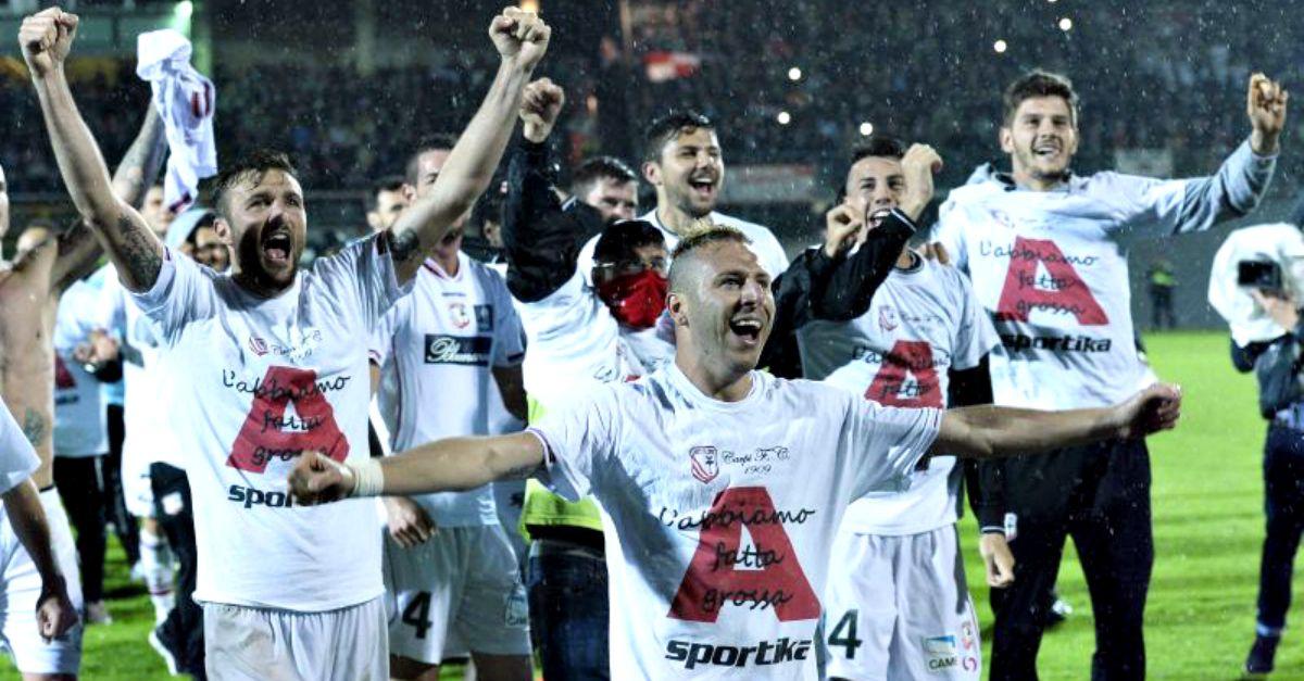 Applausi per il Carpi FC, il piccolo comune emiliano conquista la serie A