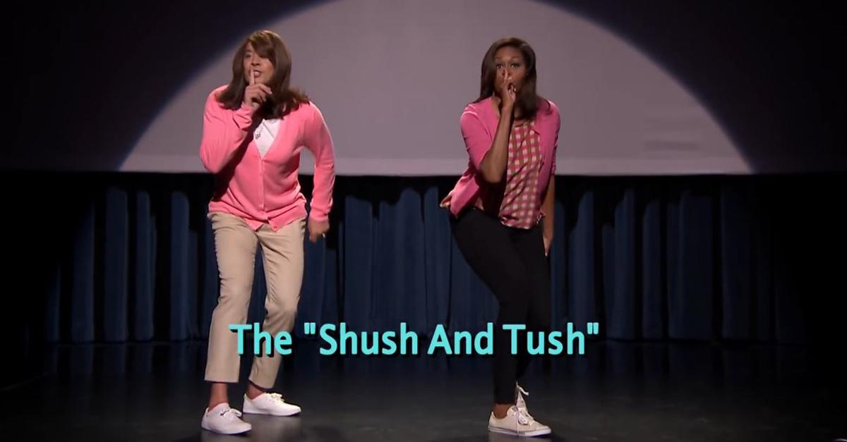 'Zitta e sculetta', Michelle Obama e Jimmy Fallon ballano contro l'obesità negli USA