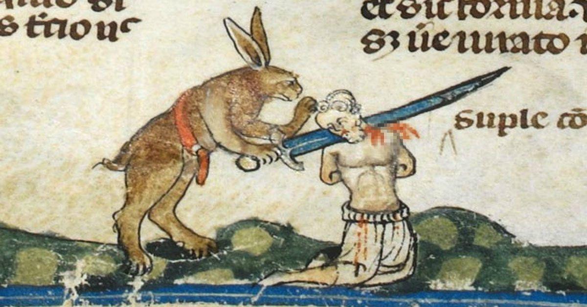 Gli antenati medievali del coniglietto pasquale non erano così dolci e gentili