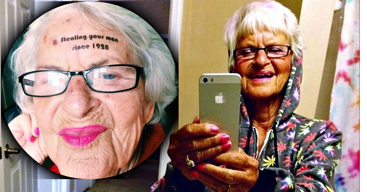 """""""ti rubo l'uomo dal 1928"""", Baddiewinkle (86 anni) è la nonna più swag della rete"""