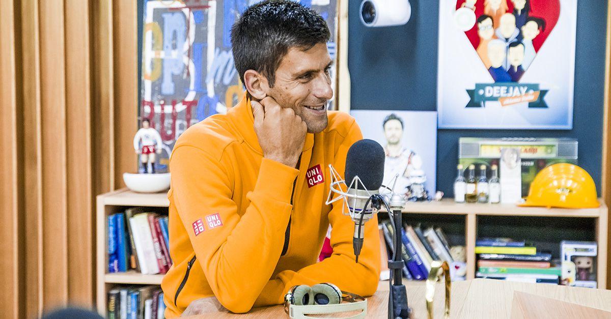 """Djokovic a djci: """"Non sono come Agassi, mio padre non mi ha mai costretto a giocare a Tennis"""""""