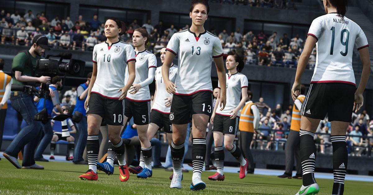 Fifa 16 apre alle 'quote rosa': per la prima volta scendono in campo le donne
